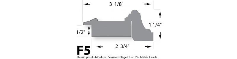 Cadre - Moulure F5