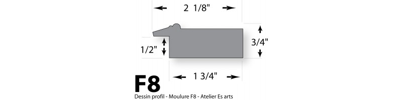 Cadre - Moulure F8