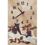 Horloge les oursons