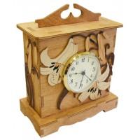 Horloge «Les lys»