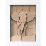 Petit éléphant - Casse-tête 3D
