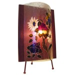 "Lampe de table courbe - 9"" x 12"""