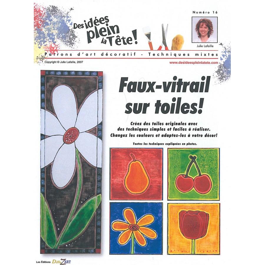 Pin faux vitrail on pinterest for Faux vitrail sur miroir